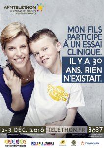Affiche AFM Téléthon